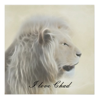 I love Chad Africa Poster