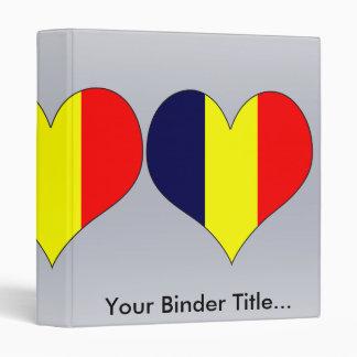 I Love Chad 3 Ring Binder