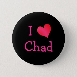 I Love Chad Button