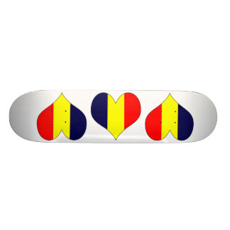 I Love Chad Skateboard