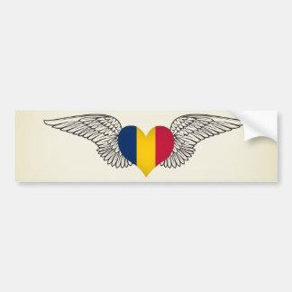 I Love Chad -wings Bumper Sticker