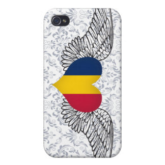 I Love Chad -wings iPhone 4 Covers