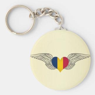 I Love Chad -wings Keychain