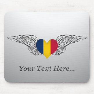 I Love Chad -wings Mouse Pads