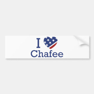 I Love Chafee Bumper Sticker