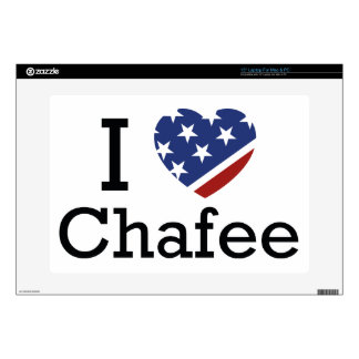 I Love Chafee Skin For Laptop