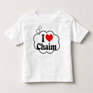 I love Chaim Toddler T-shirt