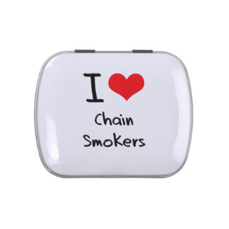 I love Chain Smokers Jelly Belly Candy Tin