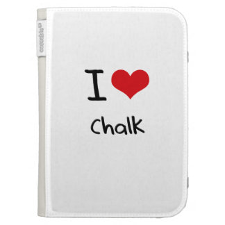 I love Chalk Kindle Folio Case