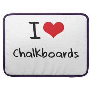 I love Chalkboards Sleeves For MacBook Pro