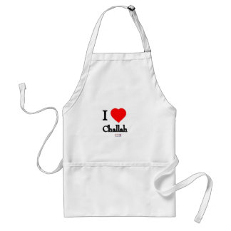 I love challah adult apron