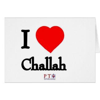 I love challah card