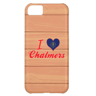 I Love Chalmers, Indiana Cover For iPhone 5C
