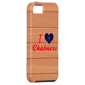 I Love Chalmers, Indiana iPhone 5 Cases