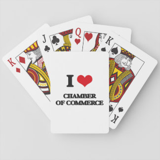I love Chamber Of Commerce Deck Of Cards