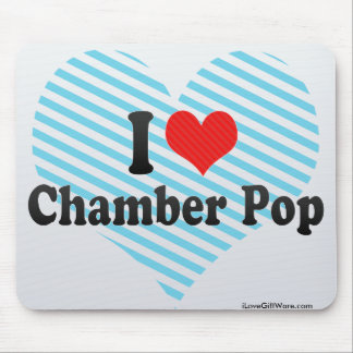 I Love Chamber Pop Mouse Pad