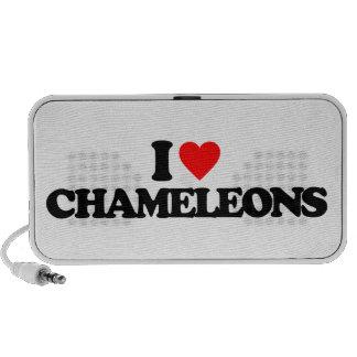 I LOVE CHAMELEONS MP3 SPEAKERS