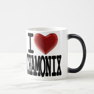 I Love CHAMONIX Magic Mug