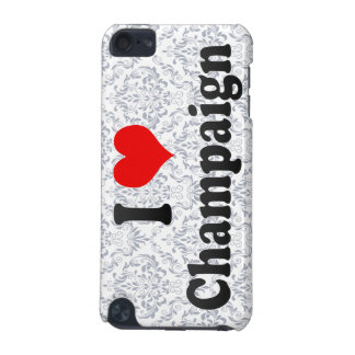 I Love Champaign, United States iPod Touch (5th Generation) Covers