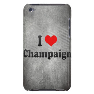 I Love Champaign, United States Barely There iPod Cover