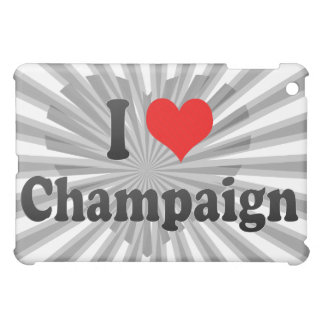 I Love Champaign, United States iPad Mini Case