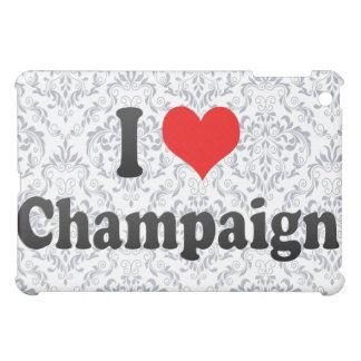 I Love Champaign, United States Case For The iPad Mini