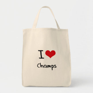 I love Champs Grocery Tote Bag