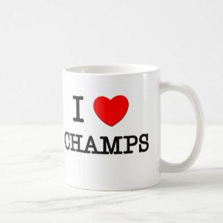 I Love Champs Coffee Mug