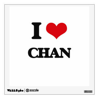 I Love Chan Room Graphic