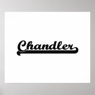 I love Chandler Arizona Classic Design Poster