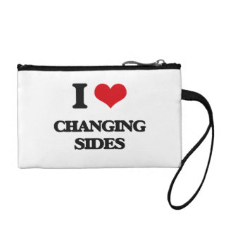 I Love Changing Sides Coin Purse