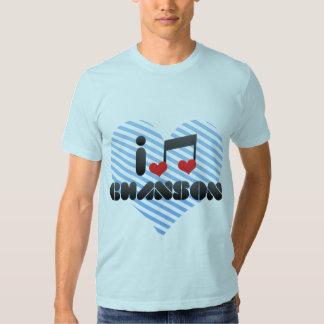 I Love Chanson Shirts