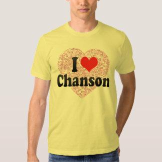 I Love Chanson Tees
