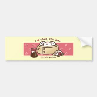 i love char siu bao bumper sticker