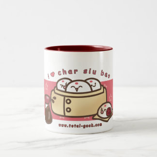 i love char siu bao coffee mug