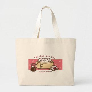 i love char siu bao Jumbo Tote Bag