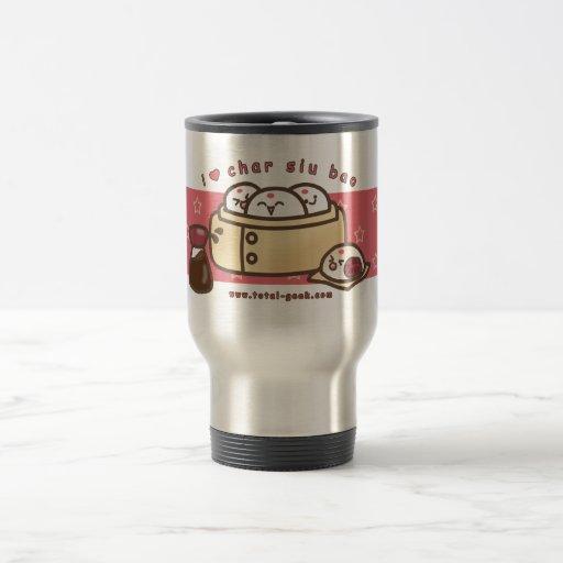 i love char siu bao thermos coffee mug