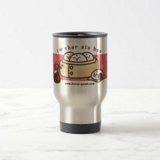 i love char siu bao travel mug