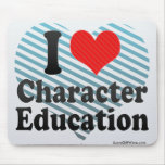 I Love Character Education Mouse Pad