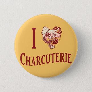 I Love Charcuterie Button