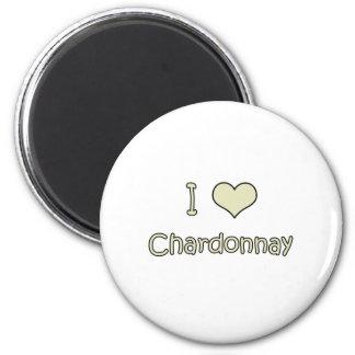 I Love Chardonnay Magnets