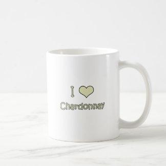 I Love Chardonnay Mugs
