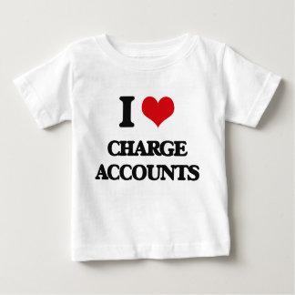 I love Charge Accounts Shirts