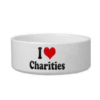 I love Charities Cat Bowl