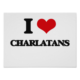 I love Charlatans Posters
