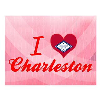 I Love Charleston Arkansas Post Card