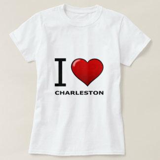 I LOVE CHARLESTON,SC - SOUTH CAROLINA T-Shirt