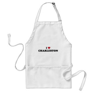 I Love Charleston South Carolina Adult Apron