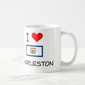 I Love Charleston West Virginia Classic White Coffee Mug