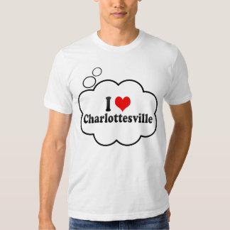 I Love Charlottesville, United States T-shirt